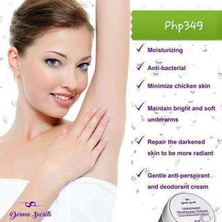 Derma Secrets Underarm Cream with spf30