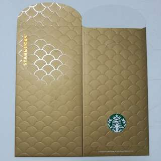 2018 Starbucks Red Packet