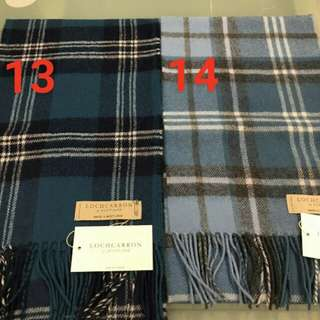 🚚 英國代購 蘇格蘭純羊毛圍巾