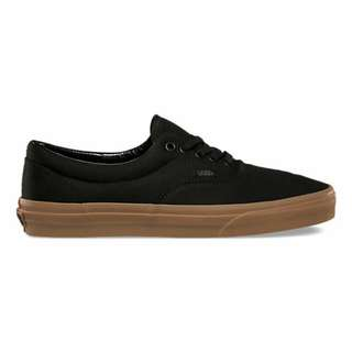 Vans ERA Canvas Black Gum Sole