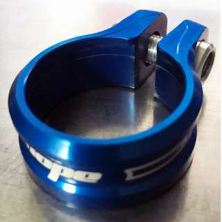 Hope Seat Clamp Blue 34.9mm