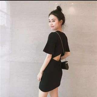 Black Dress Type Jumpsuit 🔔Ready Stock🔔