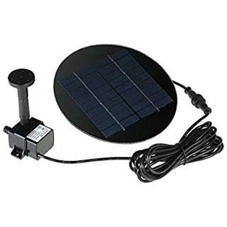 Anself Solar Powered Fountain Kit