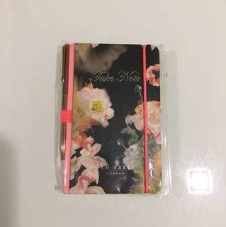 Ted Baker palm size notebook