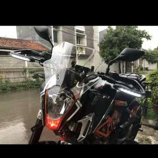 KTM duke windshield visor