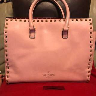 VALENTINO leather bag <100% authentic>