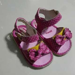 Girl Pink Minnie Sandals