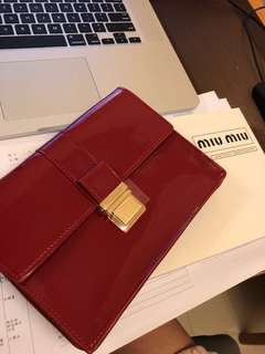 Miu miu red mini bag