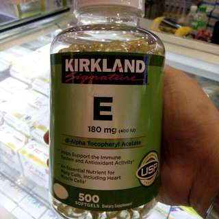 Kirkland Vit.E 400IU (For Men/women)