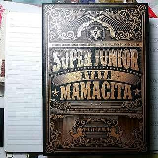 Super Junior 7th album 7輯 Mamacita A版 淨專