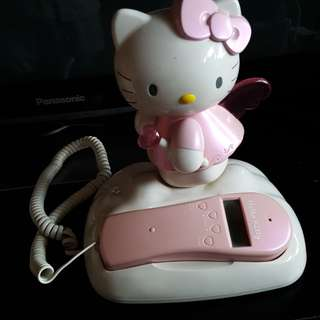 Hello Kitty telephone set