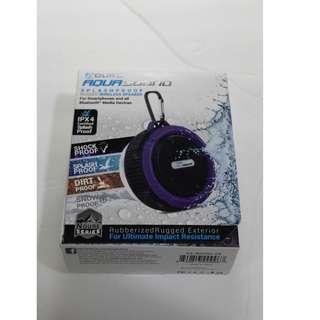 Shock/Splash/Dirt/Snow proof Wireless Speaker with Keychain Hook