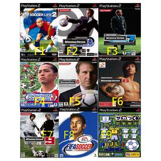 🚚 PS2 GAME 足球 SOCCER