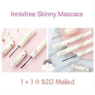 🛍1+1 Sales! Innisfree Skinny Mascara