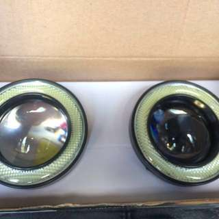 foglamp car auto fog angel eye