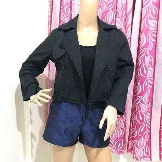 Crop Top Blazer Jacker