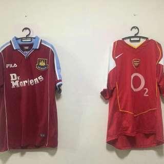 Arsenal 2005 & Repro Westham 2001