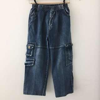 Vintage Cargo Jean Pants