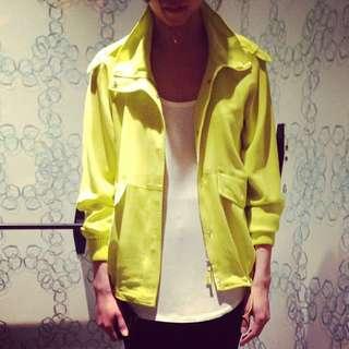 T babaton aritzia 100% silk crepe jacket size xxs