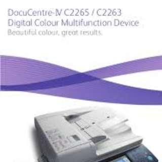 Fuji Xerox MFP Copier Printer