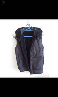 Winter Vest with detachable hoodie