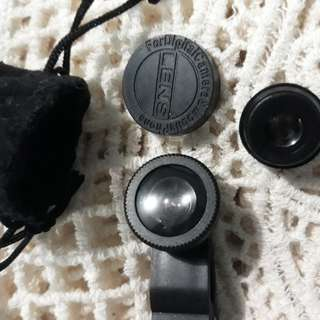 Fish Lens for mobile phone