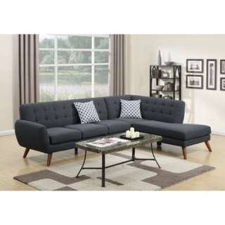 Sofa L Santai New Pisikal Smoke NFR60