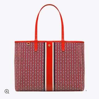 🎉📢特價:美國代購,香港現貨,Tory Burch 大號橙紅色包包