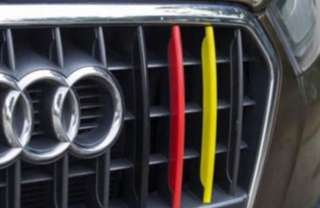 "Audi Q3 & Q5 ""Tri-colour"" Aesthetic Front Grill Strips"