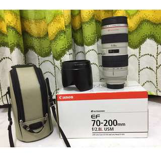 canon 70-200 f2.8L non is
