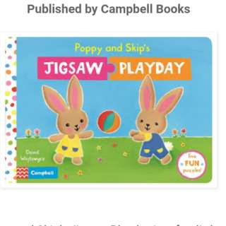 FREE SHIPPING (BNEW) Book with Puzzle