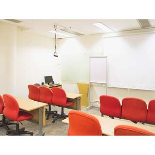 Classrooms starting @ $20/hr
