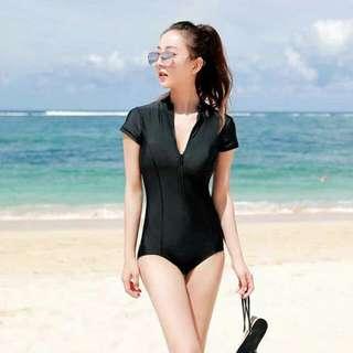 Short Sleeved Rashguard Swimwear