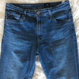 AG Jeans Farrah High Rise Skinny Crop