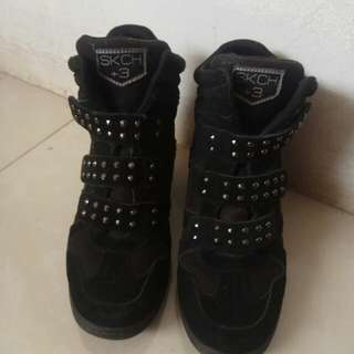 Jual semi boots size 36 for women