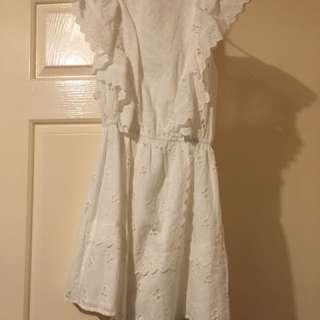 Atmos & Here white dress