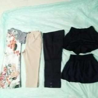 Dress/pant/skort/skirt