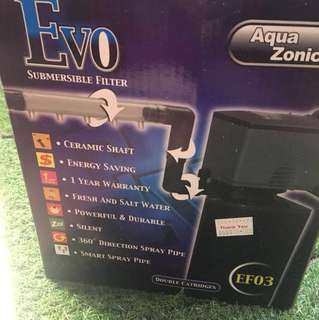 Evo Submersible Filter
