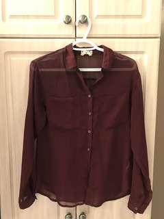 Garage Chiffon Shirt