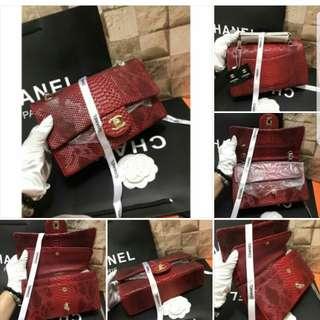 Chanel bag sneak skin