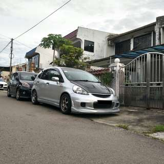ING bodykits for Honda jazz fit