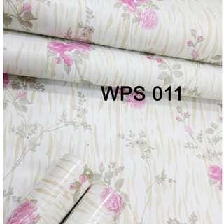 WPS011-PINK GOLD MOTIF
