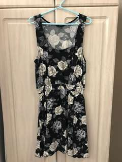 Aritzia Talula Floral Print Dress
