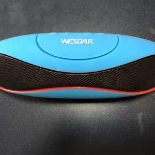 (Brand New) Wesnar BT Speaker