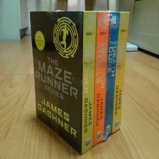 Brand New!! Maze Runner Complete Set
