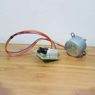 Stepper motor 28BYJ-48 with control board