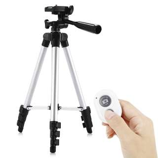Camera Tripod with Bluetooth 4.0 Remote Controller