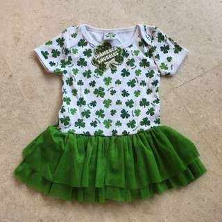 Baby girl tutu romper dress from Ireland