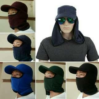 Topi jepang plus masker