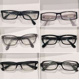Designer prescription eyewear frames